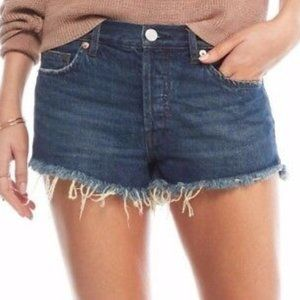 FREE PEOPLE Soft & Relaxed Cut Off Shorts 30 NWT